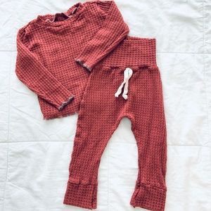 Other - Unisex shirt and pant set